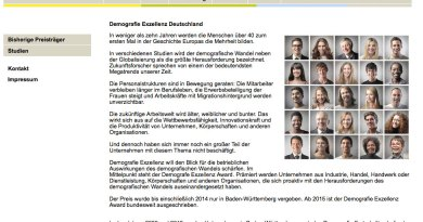 Screenshot Demografie Award