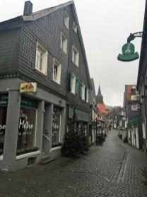 Remscheid-Lennep bei Regen