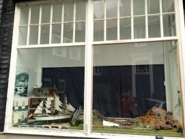 Dekoriertes Schaufenster