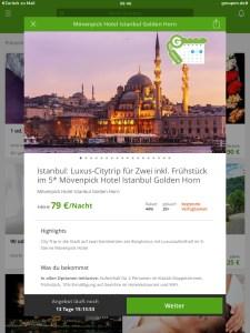 Istanbul mit Groupon