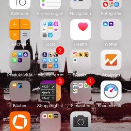 Apps auf meinem Smartphone