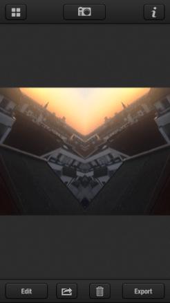Screenshot: Spiegelung bei Zitrr