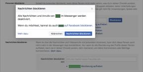So blockiert man auf Facebook