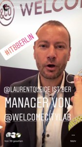Laurent Queige von Welcome City Lab