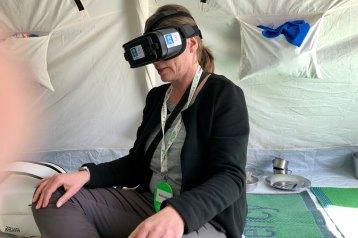 Physisch in Berlin, virtuell in Jordanien