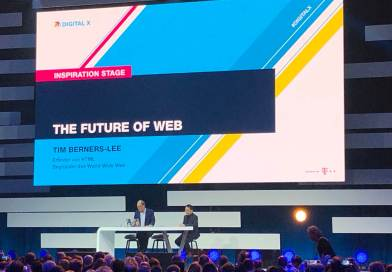 Tim Berners-Lee bei der Digital X