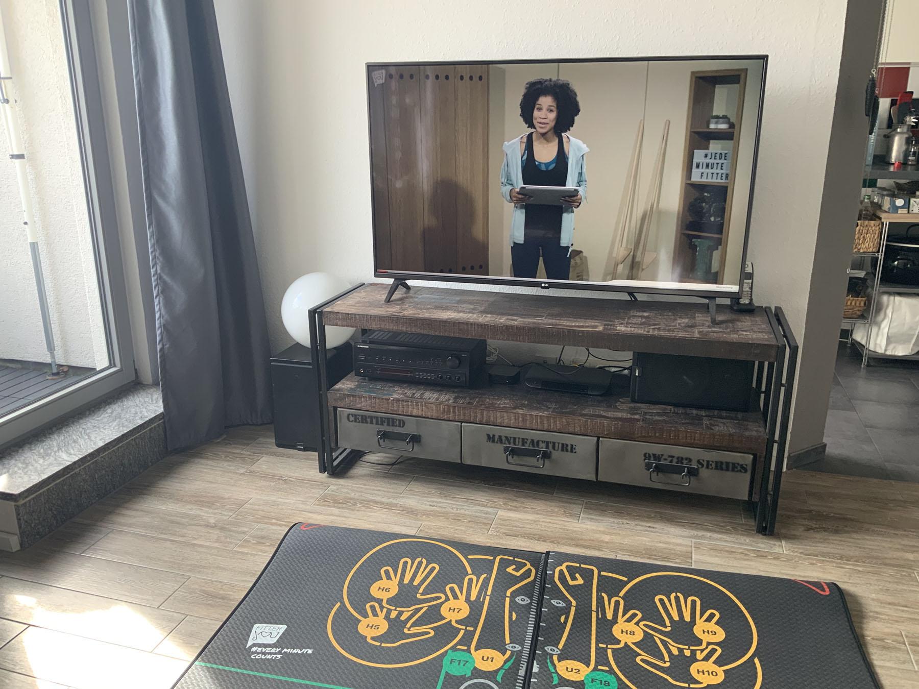 Getestet: Fitteryou – Sport im Wohnzimmer