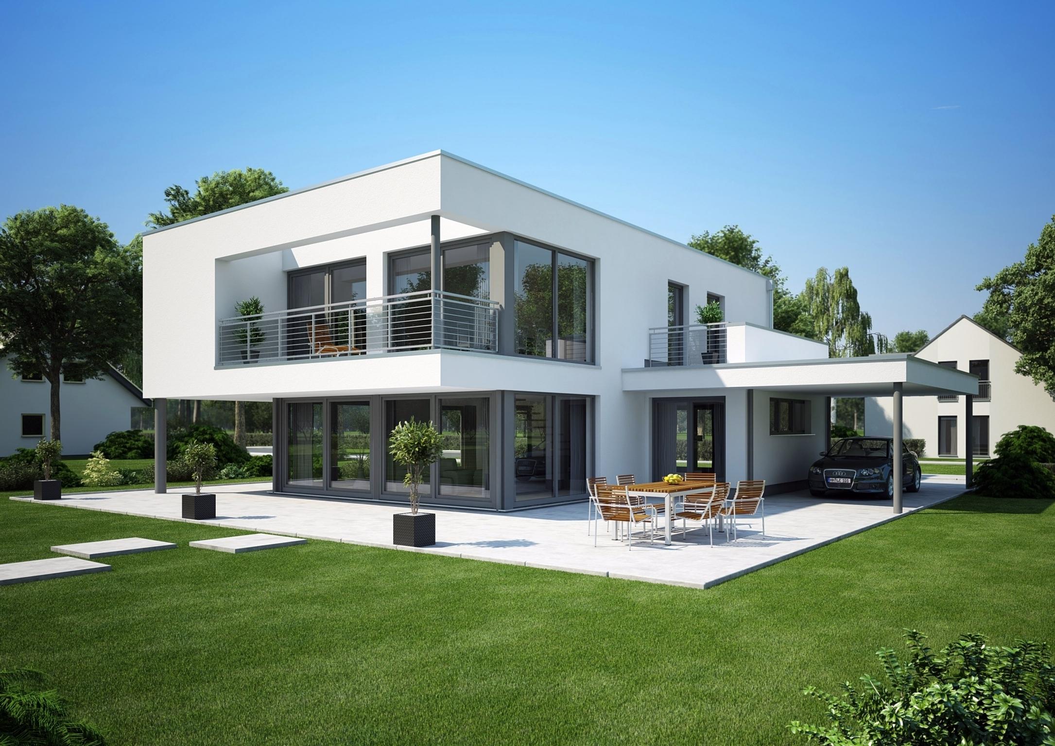 kosten dachterrasse flachdach das einfamilienhaus architektenh user. Black Bedroom Furniture Sets. Home Design Ideas