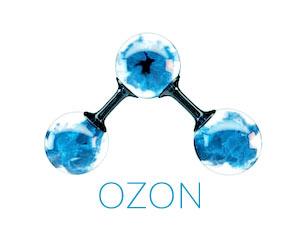 cząsteczka ozonu