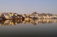 Beautiful Pushkar, Indien.