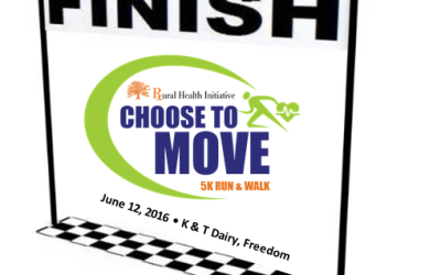 Finish Times Posted for June 12 Choose to Move 5K