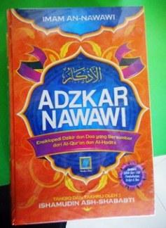 Buku Adzkar Nawawi - Jual Terjemahan Kitab Al Adzkar An Nawawiyah - Karya Imam An Nawawi - Penerbit Media Zikir