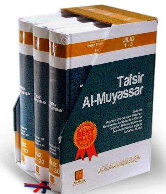 Tafsir Al Muyassar Bahasa Indonesia 3 Jilid Lengkap - Penerbit An Naba' - Jual Terjemahan Tafsir Al Quran 30 Juz Lengkap