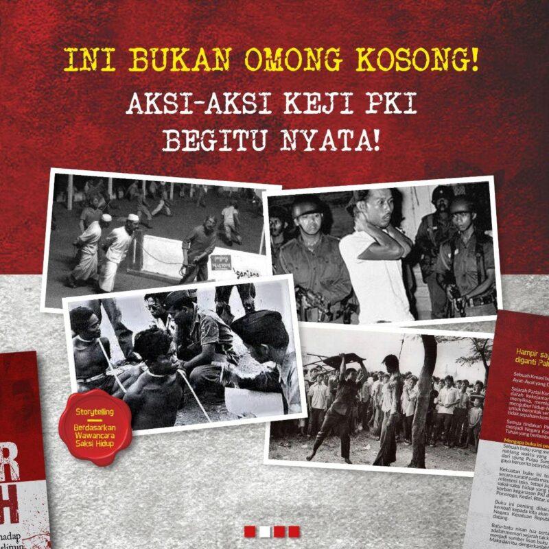 Buku Aksi Aksi Keji PKI Kekejaman PKI