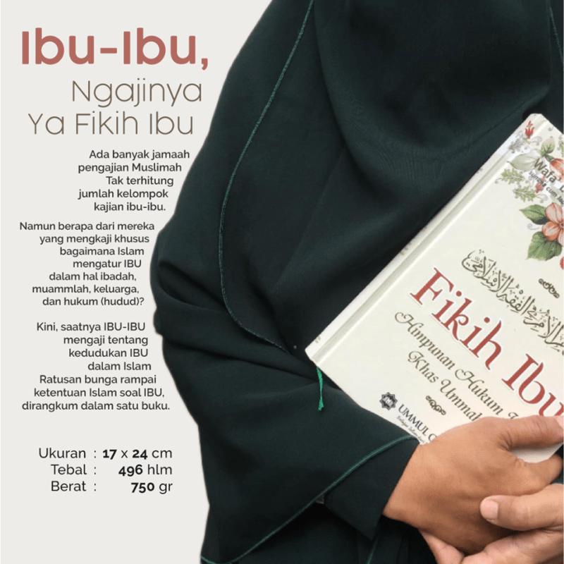 Buku Fikih Ibu Penerbit Ummul Qura Penulis Wafa' binti Abdul Aziz As Suwailim