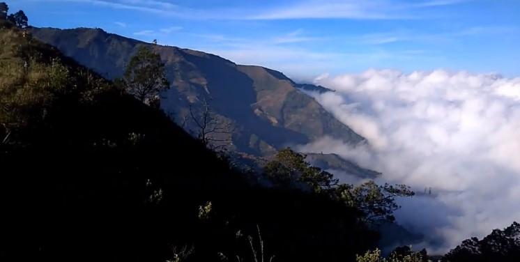 gunung Pakuwojo Dieng