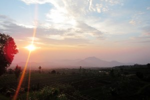 Sunset Sunrise Gede Pangrango