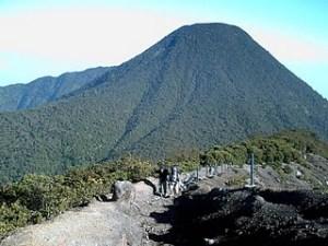 Puncak Gunung Gede