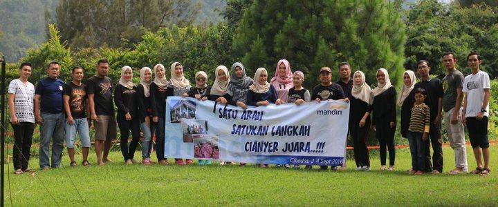 Kemah Manja – Sebuah Testimoni dari Bank Mandiri Cabang Cianyer Banten