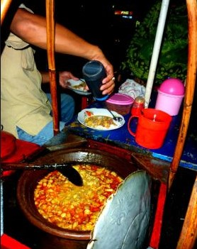 Gulai Tikungan Blok M : gulai, tikungan, Tempat, Kuliner, Malam, Jakarta, Selatan