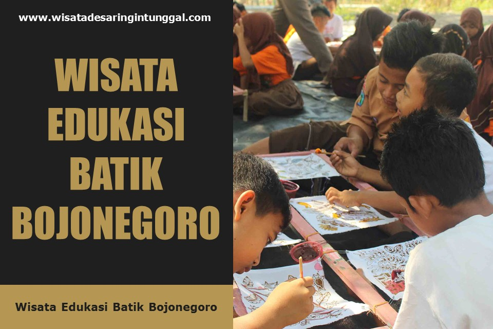 wisata edukasi batik bojonegoro jawa timur