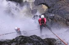 curug cikondang rappeling canyoning 1