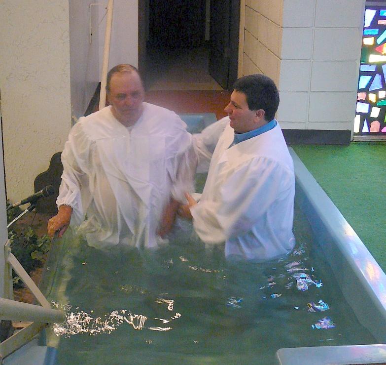 Jim Lane baptism