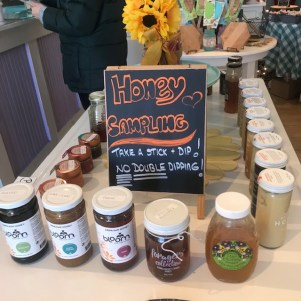 Beelicious in Wiscasset sells all things honey related. She also has honey for you to sample.