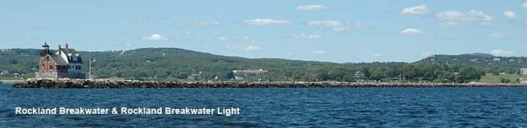 Rockland Breakwater Lighthout