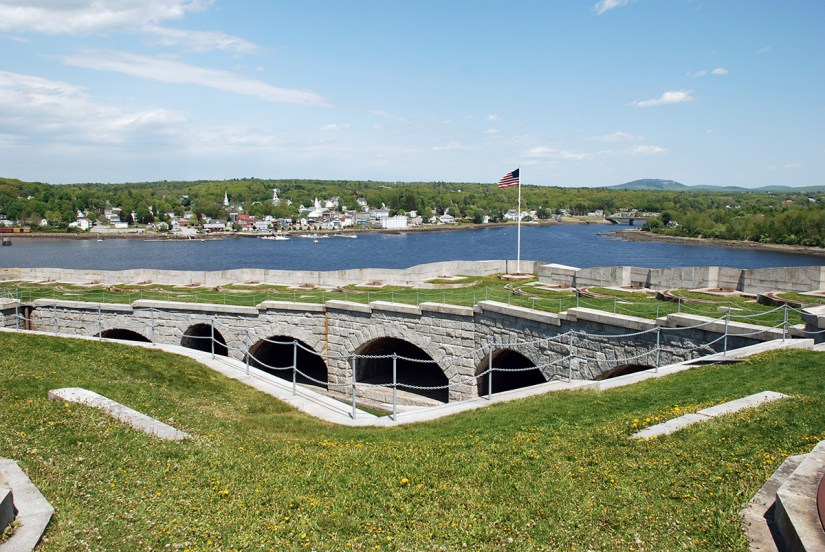 Fort Knox in Maine