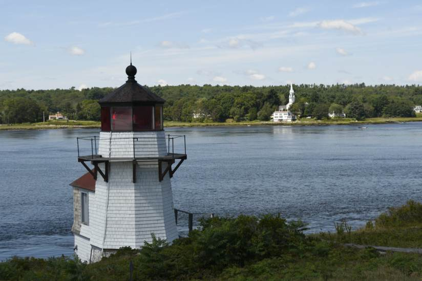 Squirrel Point Lighthouse