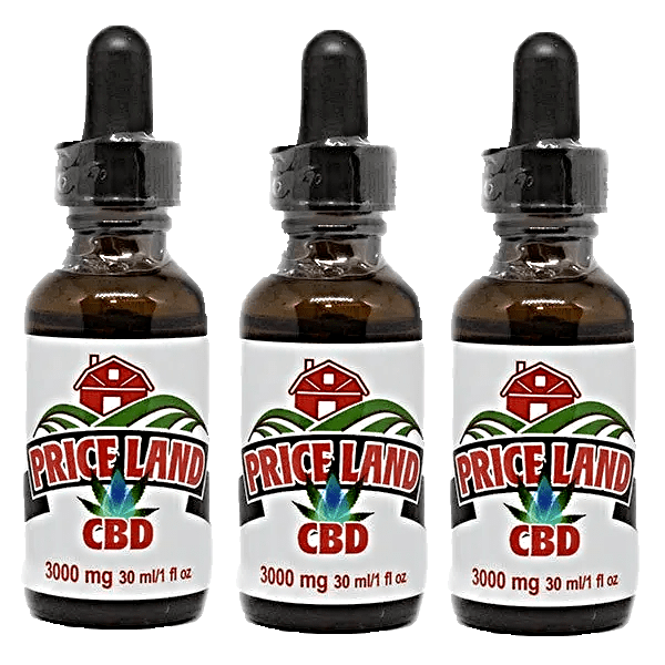 CBD Oil 3 pack 3000