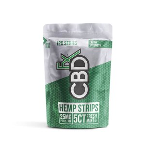 CBDfx Hemp Strips 5ct 25mg Pouch