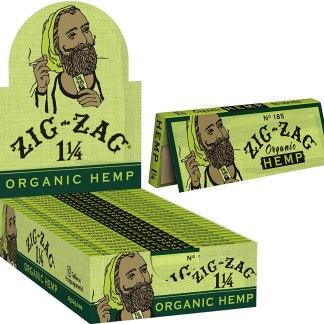 Zig Zag 1-1/4 Organic Hemp Papers
