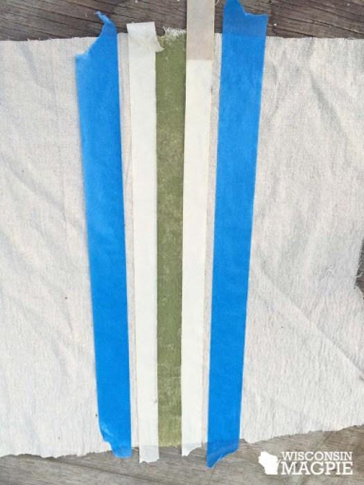 grain sack stripe