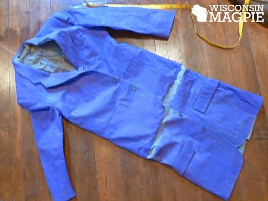 sewing Joker costume