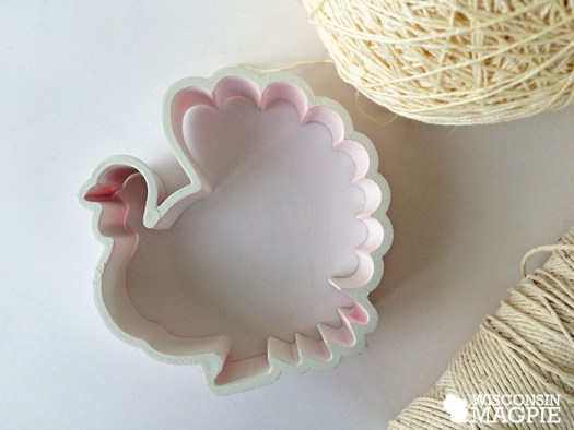 turkey cookie cutter