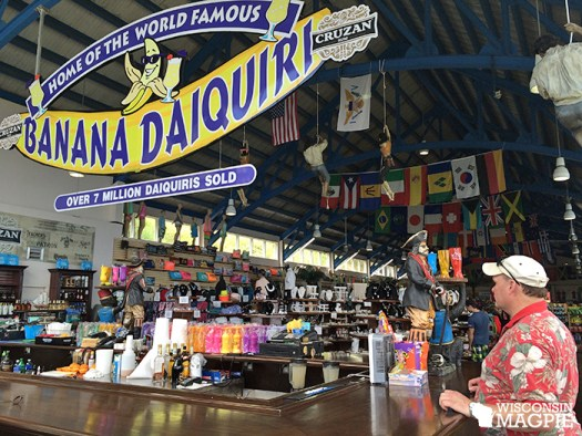 Home of the World Famous Banana Daiquiri