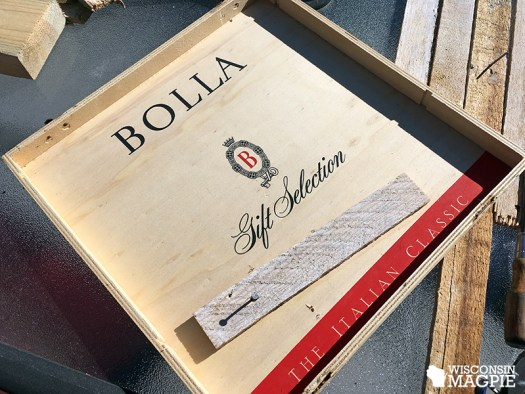 wine box cover