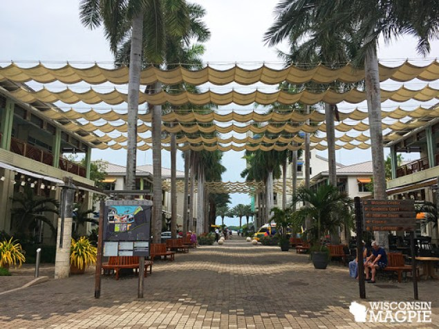 Camana Bay shopping center