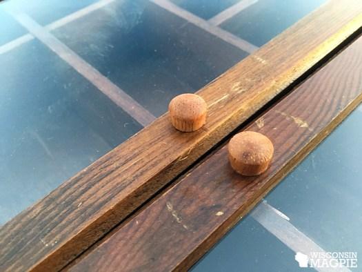 replacing curio cabinet handles