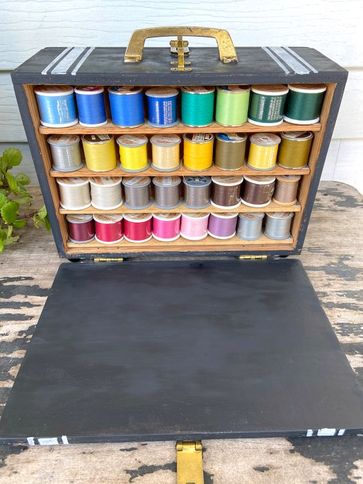 handmade thread box