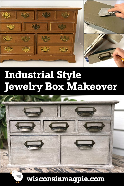 From jewelry box to apothecary cabinet