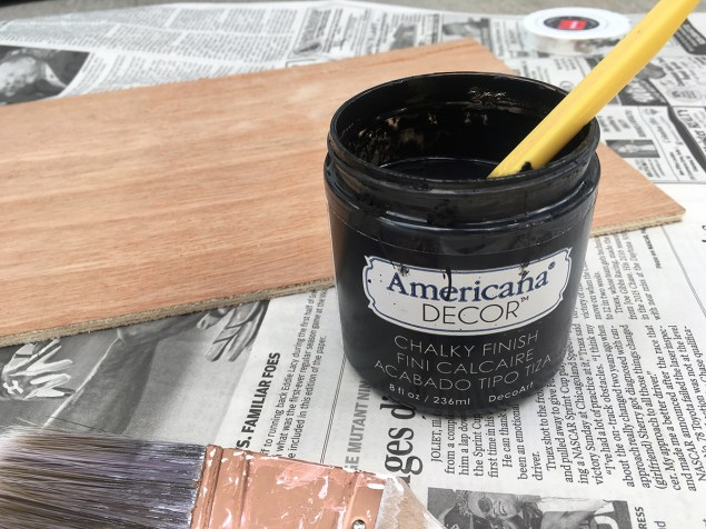 Black Americana Decor chalk paint