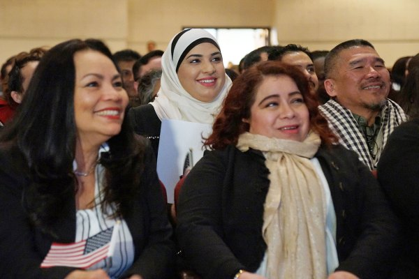 Naturalization Ceremony Welcomes Diversity Of Faith And