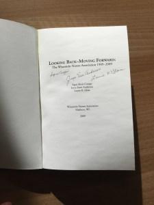 WNA Signed Book