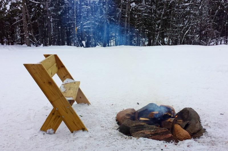 Campfire at Minocqua Winter Park