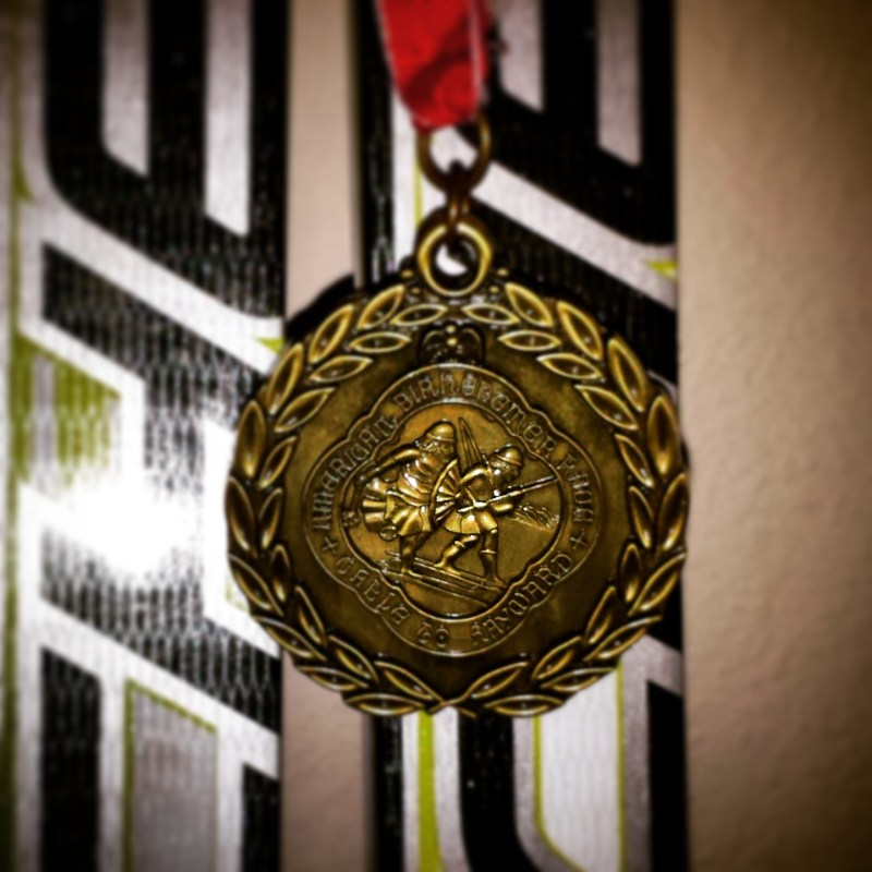 Birkie Finisher Medal