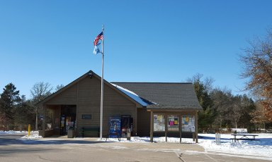 Mirror Lake State Park Ranger Station