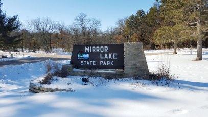 Mirror Lake State Park Enterance